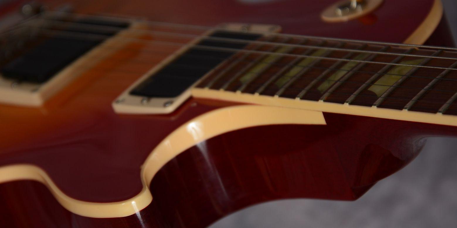 Gibson Les Paul Classic Electric Guitar Reverb Plus Trans Ebony The Music