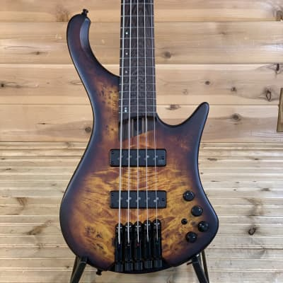 Ibanez EHB1505 Ergonomic Headless Bass Electric Bass Guitar - Dragon Eye Burst for sale