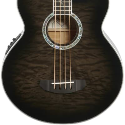 Michael Kelly Dragonfly 4 Smoke Burst Acoustic/Electric Bass - 348025 - 809164022060