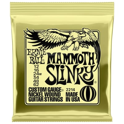 Ernie Ball Mammoth Slinky 12-65 Electric Guitar Strings