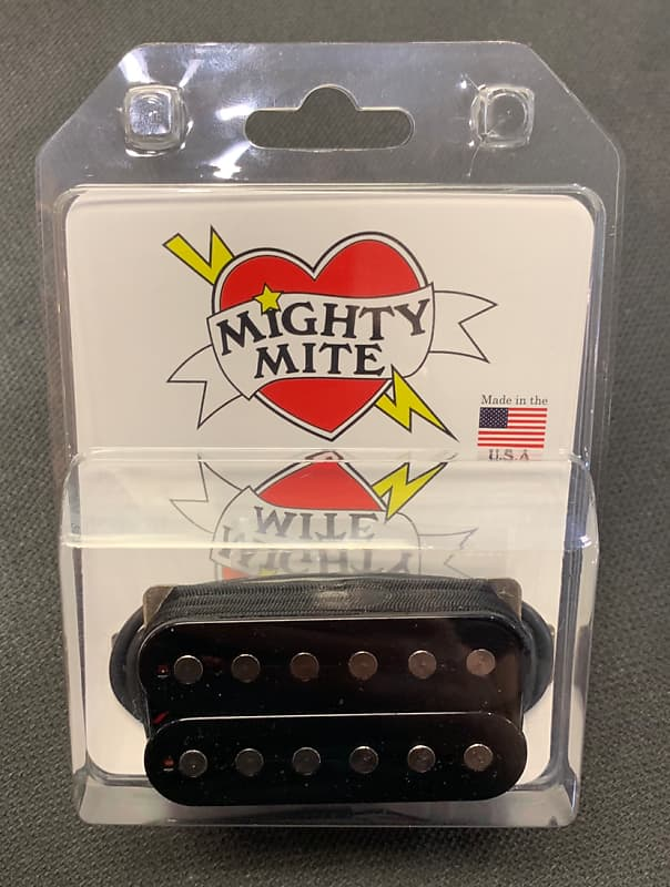 mighty mite electric guitar humbucker 1400 b 003 reverb. Black Bedroom Furniture Sets. Home Design Ideas