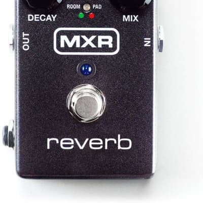 MXR M300 Digital Reverb Pedal - for Electric Guitar with 6 Reverb Modes