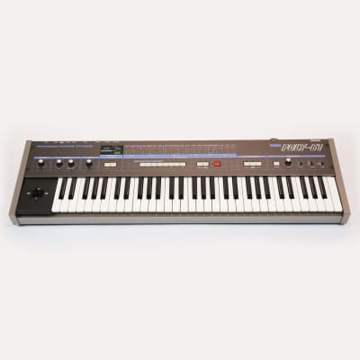 Korg Poly-61 Vintage Analog Programmable Polyphonic Synthesizer Keyboard Fully Serviced Perfect