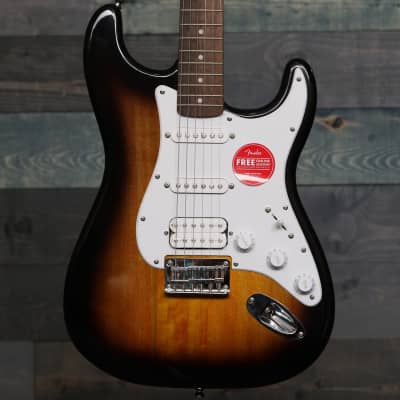 Fender Squier Bullet® Stratocaster® HT HSS, Laurel Fingerboard, Brown Sunburst
