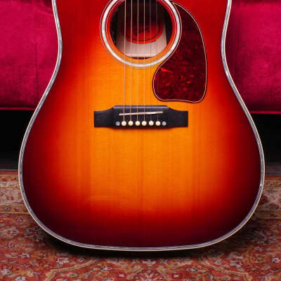 Gibson 2018 J-45 Regal Acoustic Electric Guitar Rosewood Burst for sale