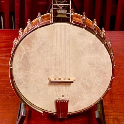 Wildwood Troubadour Open Back Banjo Tree of Life Inlay 2012 Maple