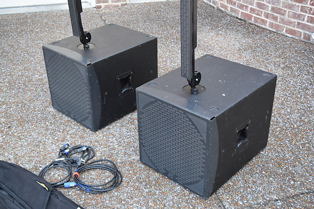 K array kr202s stereo powered PA speaker setup Excellent-used speakers for  sale