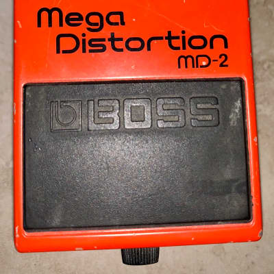 Boss Md-2 Mega distortion guitar effects fx pedal