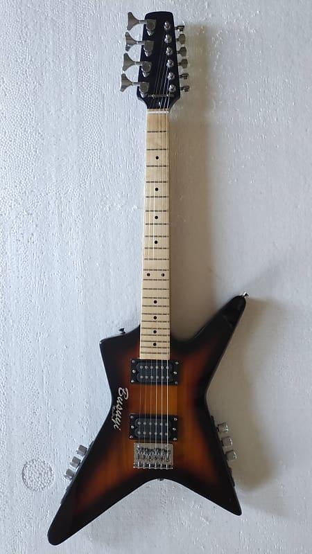 4 string neck thru short scale bass 6 string busuyi reverb. Black Bedroom Furniture Sets. Home Design Ideas