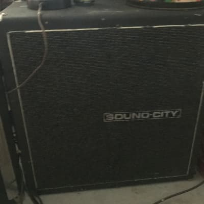 Sound City 4x10 Bass Cabinet 70s Black for sale