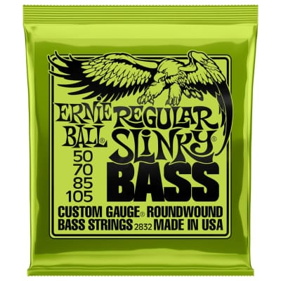 Ernie Ball Regular Slinky 50-105 4-String Bass Guitar Strings