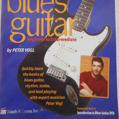 Watch & Learn Blues Guitar Beginner to Intermediate W/CD