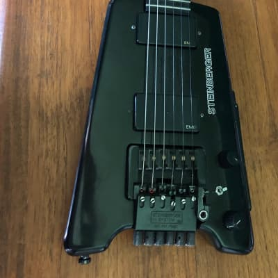 Steinberger GL2T Black NY made with EMG for sale