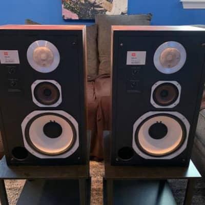 JBL L96 Delta Vintage Audiophile Speakers w/Deer Creek Audio Metal Stands — Beautiful!