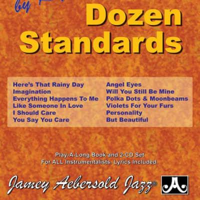 Jamey Aebersold Volume 23 - One Dozen Standards - Book and 2-CD Set