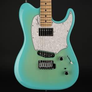 Godin Session Custom 59 Maple Coral Blue