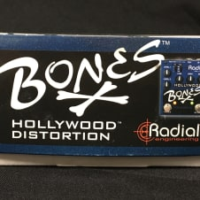 New Radial Engineering Tonebone Bones Hollywood Distortion w/ Free Cable, Winder & Pics