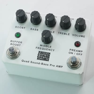 Freedom SP-BP-01 Quad Sound-Bass Preamp for sale