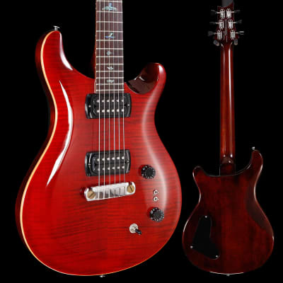 PRS Paul Reed Smith SE Paul's Guitar w/ Bag, Fire Red 812 7lbs 3.4oz for sale