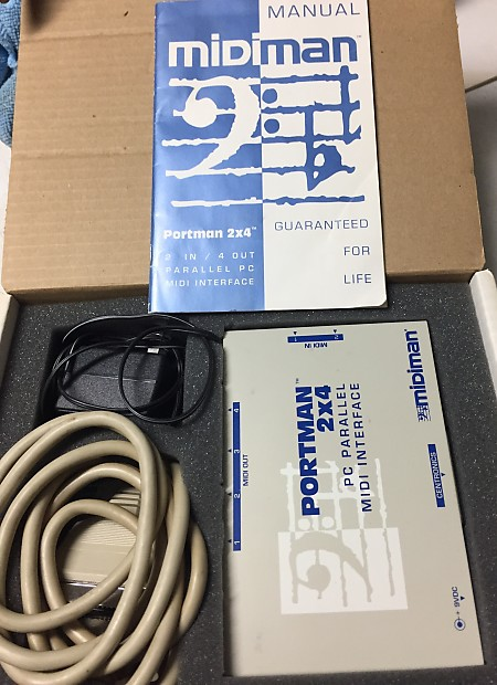 MIDIMAN 2X4 DRIVER PC