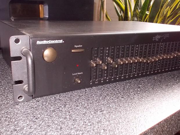 audiocontrol 1 3 oct 31 band equalizer analog hifi reverb. Black Bedroom Furniture Sets. Home Design Ideas