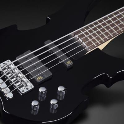 Warwick RockBass Vampyre, 5-String - Solid Black High Polish