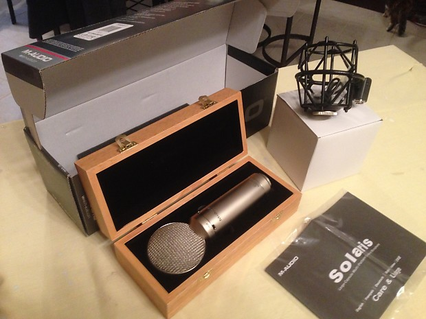 m audio solaris large diaphragm microphone rare reverb. Black Bedroom Furniture Sets. Home Design Ideas