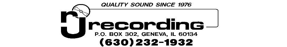 RJ Recording & Sound