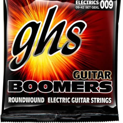 GHS Boomers Extra-Light Electric Strings (9-42)