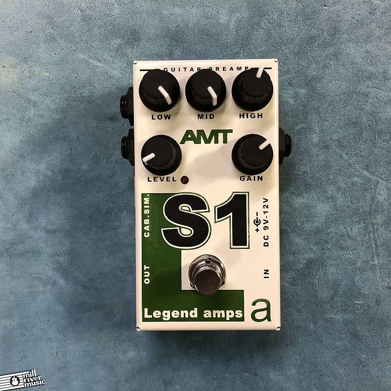 AMT Electronics Legend Amps S1 Distortion Effects Pedal