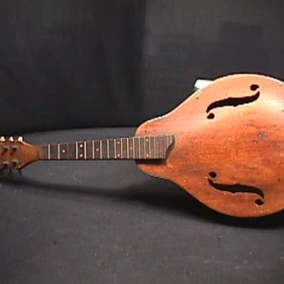 An Antique Unknown Maker Solid Wood Archtop Mandolin for Restoring   1 M for sale