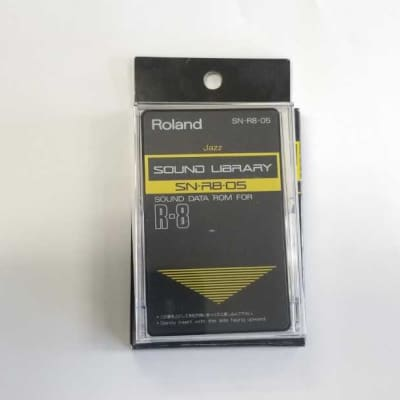 Roland SN-R8-05 Sound Data ROM Jazz