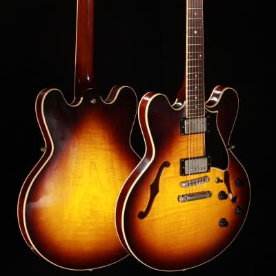Heritage Artisan Aged H-535 Semi-Hollow Original Sunburst w/Hardshell Case for sale