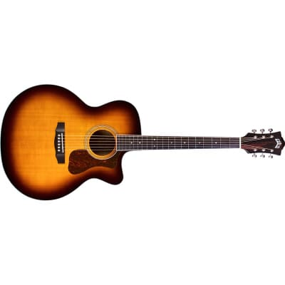 Guild F-250CE Deluxe Westerly Jumbo Electro Acoustic, Natural for sale