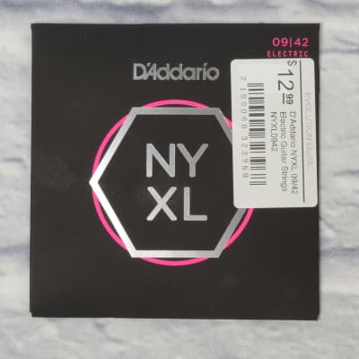 D'Addario NYXL 09/42 Electric Guitar Strings NYXL0942