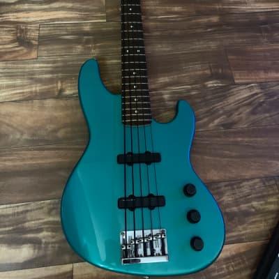 Fender Jazz Bass Plus V Metallic Green for sale