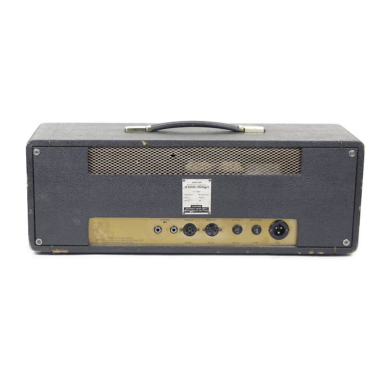 marshall jmp 1987 2 channel 50 watt guitar amp head 1967 reverb. Black Bedroom Furniture Sets. Home Design Ideas