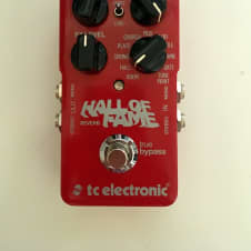 TC Electronic Hall of Fame Reverb 2017 Red