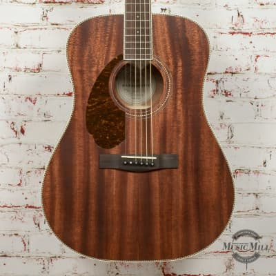 Fender PM-1 Dreadnought All-Mahogany LH Acoustic Guitar, Natural DEMO - cc170508760