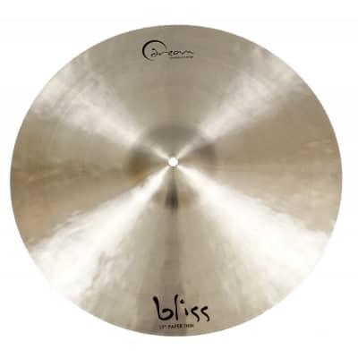 "Dream Cymbals Bliss 17"" Paper Thin Crash Cymbal"
