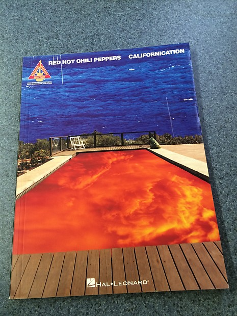 Red Hot Chili Peppers Californication Tab Book Hal Leonard Reverb