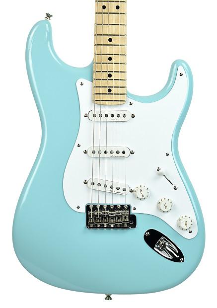 2009 Fender Eric Clapton Custom Stratocaster Daphne Blue