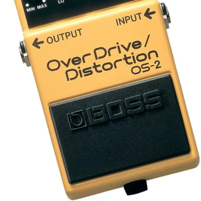 Boss OS-2 Overdrive and Distortion Guitar Effect Pedal for sale