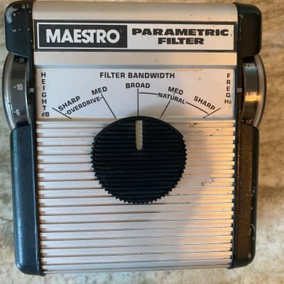 Maestro Parametric Filter with Overdrive 1970's for sale