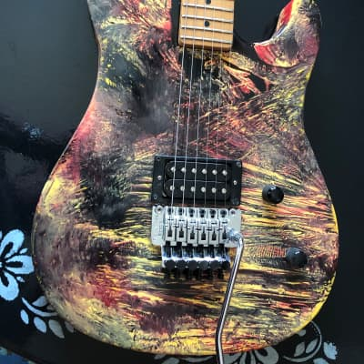 Peavey Tracer with one of a kind paint job and upgrades galore for sale
