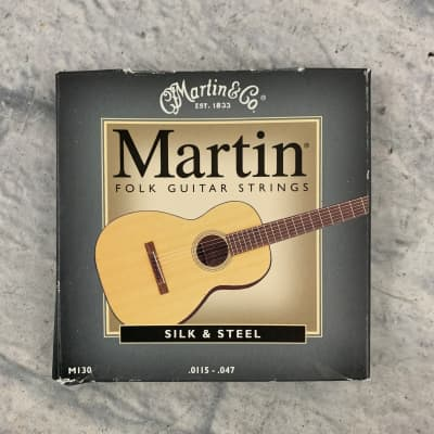 Martin Silk & Steel 11-47 Acoustic Strings