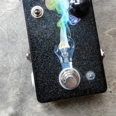 Pedal Monsters Bright Lights Overdrive Limited Edition Black Sparkle