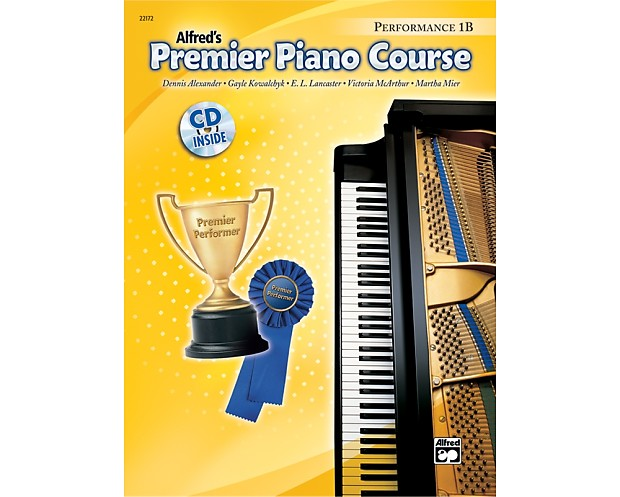 Premier Piano Course: Performance Book 1B | Music Books Plus | Reverb
