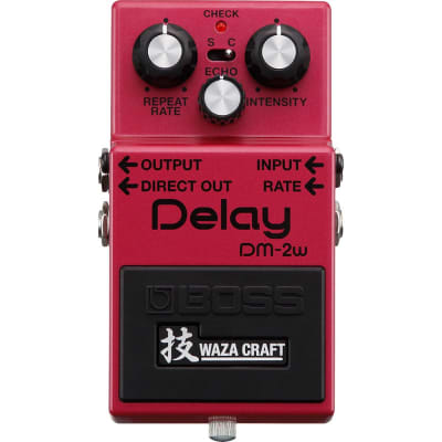 Boss DM-2W Analog Delay Waza Craft Pedal for sale