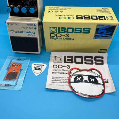 Boss DD-3 Digital Delay w/Original Box | Fast Shipping!